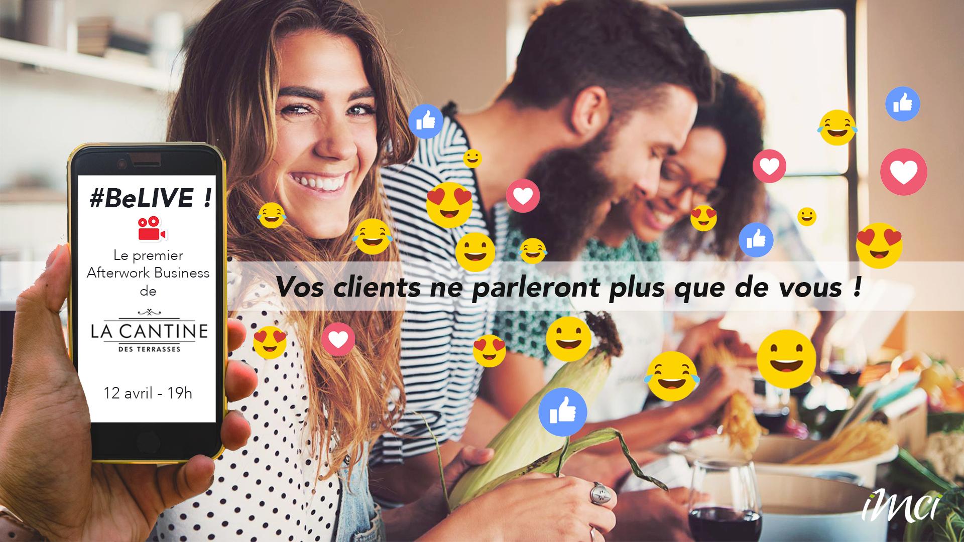 La publicité qui a été réalisée pour Facebook pour notre évènement du 12 avril à Marseille aux Terrasses du Port.
