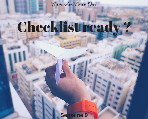 Checklist ready