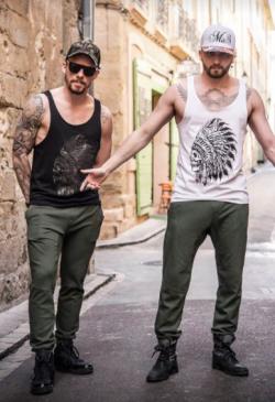 Deux coupes pour ce pantalon kaki Mix S